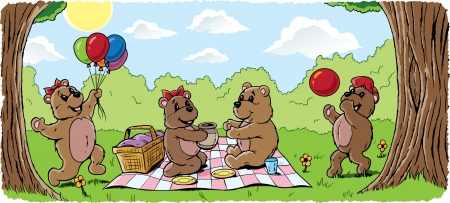 15477459 - teddy bear picnic