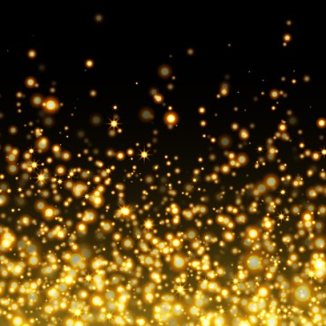 48392675 - vector gold glittering sparkle stardust background